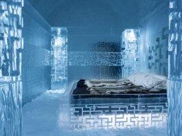 Шведский ледяной отель
